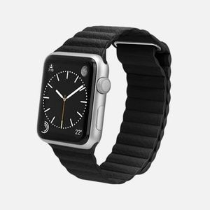 CASETiFY Leather Magnetic Apple Watch Band 38MM